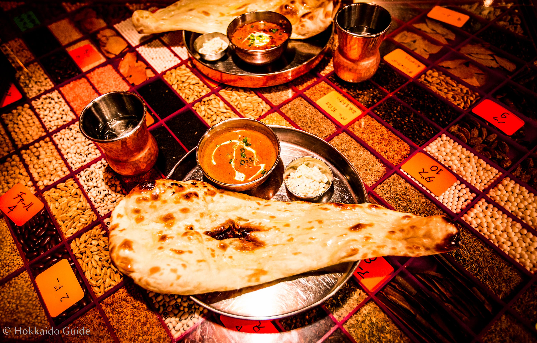 Taj Mahal cuisine