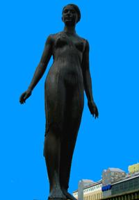 Season Statue Kushiro.