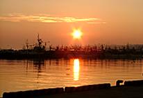 Otaru Harbour at Sunset