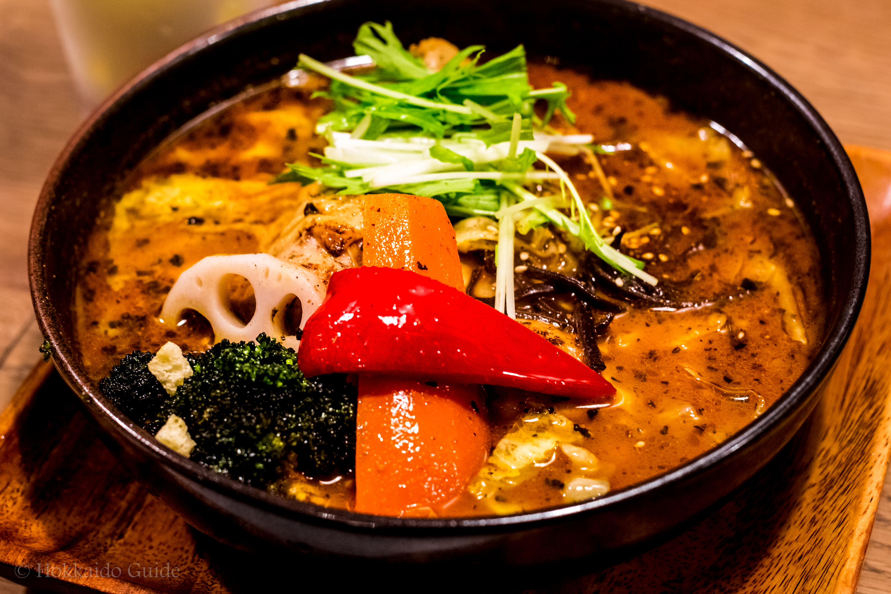 how to make sapporo soup curry