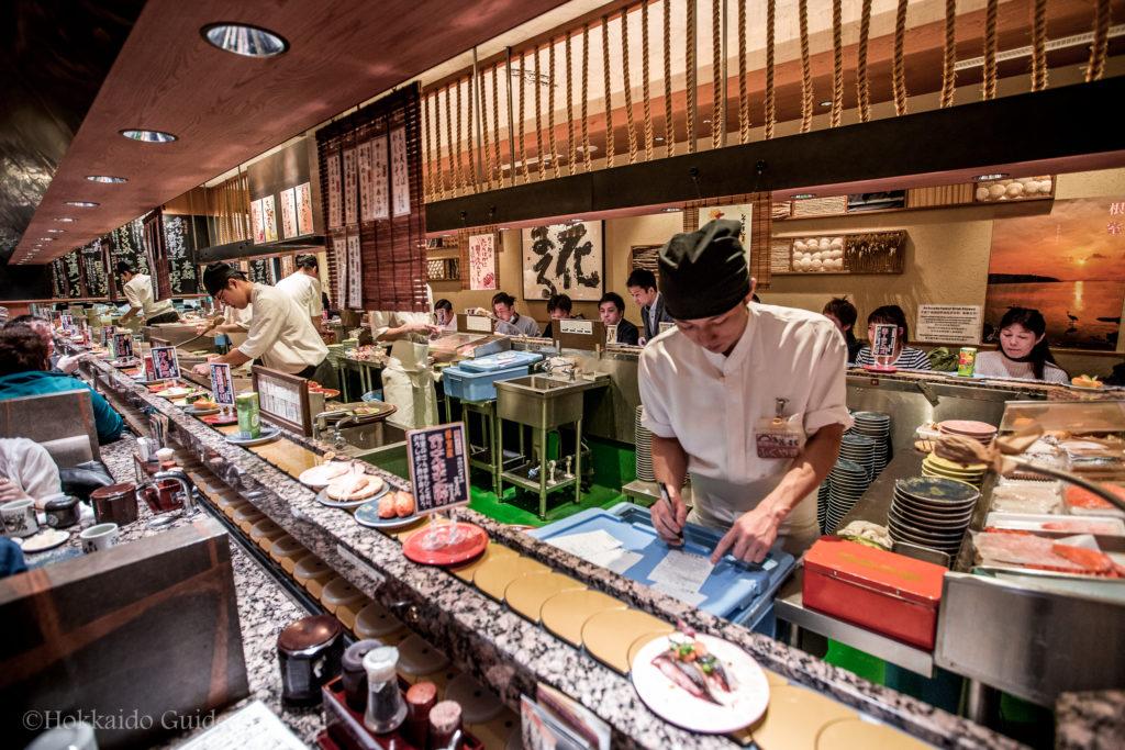 Hanamaru Sushi Sapporo Hokkaido Guide Our fried sushi burritos is a must try! hanamaru sushi sapporo hokkaido guide