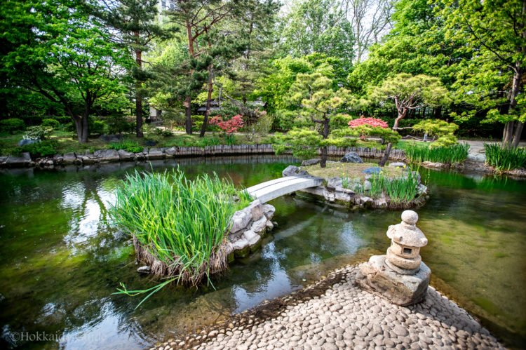 Japanese gardens hasso an tea house hokkaido guide for Japanese tea garden hours
