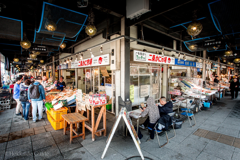Nijo Ichiba Fish Markets
