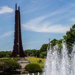 Centennial Memorial Tower in Nopporo Forest