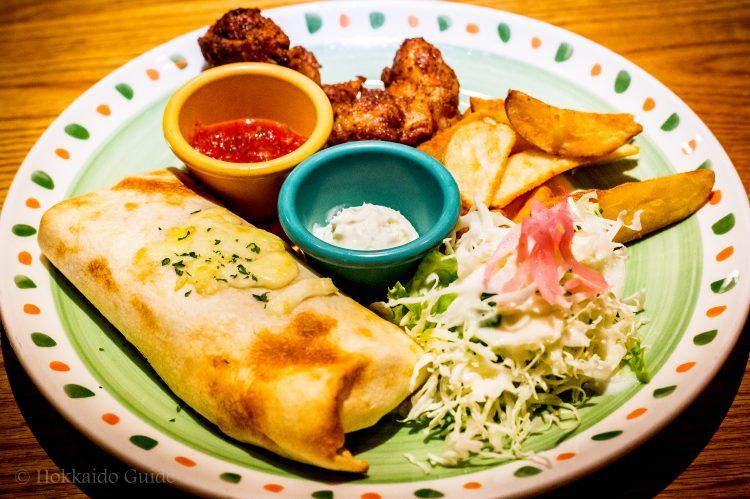 Delicious MEXICAN DISH sombrero MEXICANO