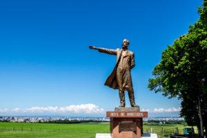 Statue of Dr William Smith Clark