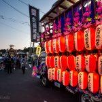 Otaru Shukutsu Fireworks Festival mikoshi