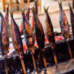 Otaru Shukutsu Fireworks Festival seafood
