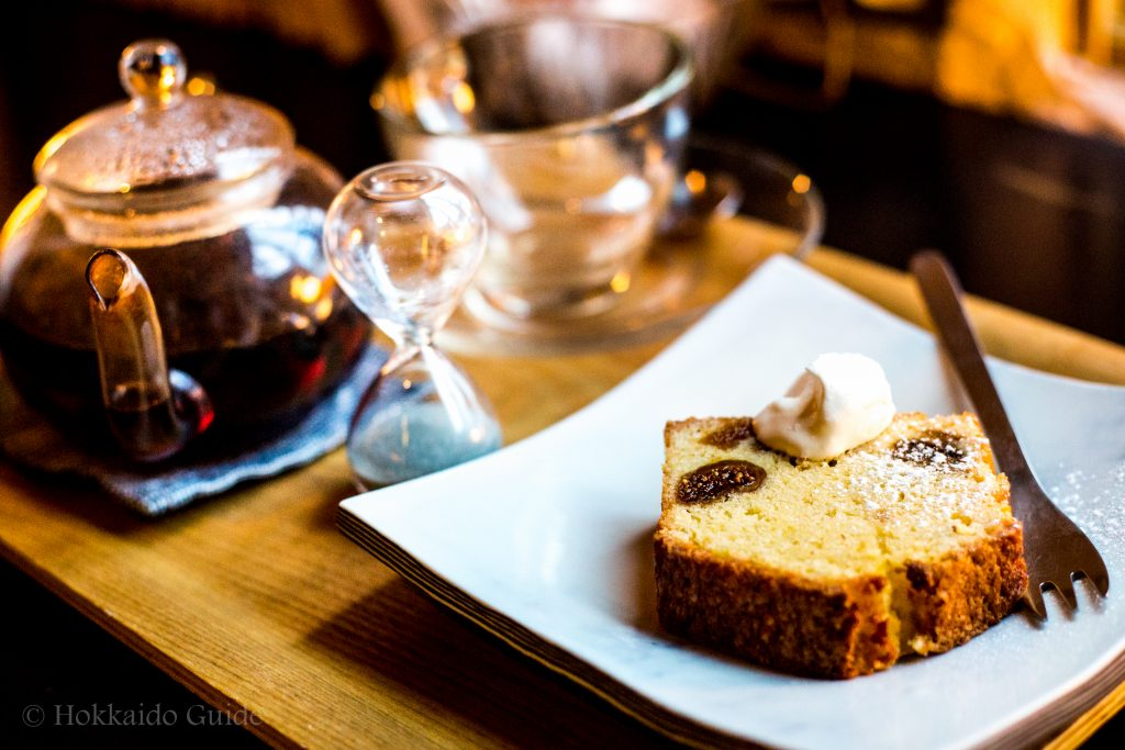 Tsubara Tsubara Coffee Sapporo cake