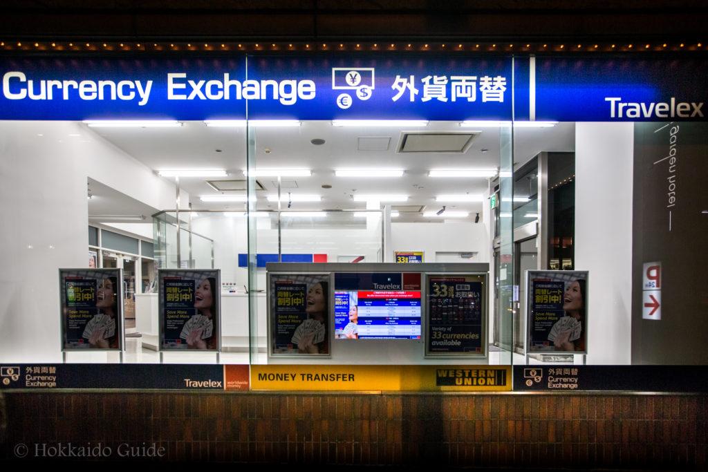 Travelex & Western Union in Sapporo