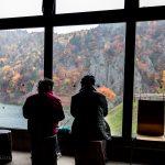 Hoheikyo Dam museum leaf viewing