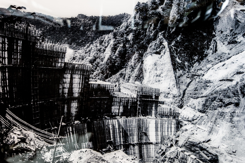 Hoheikyo Dam museum old photos