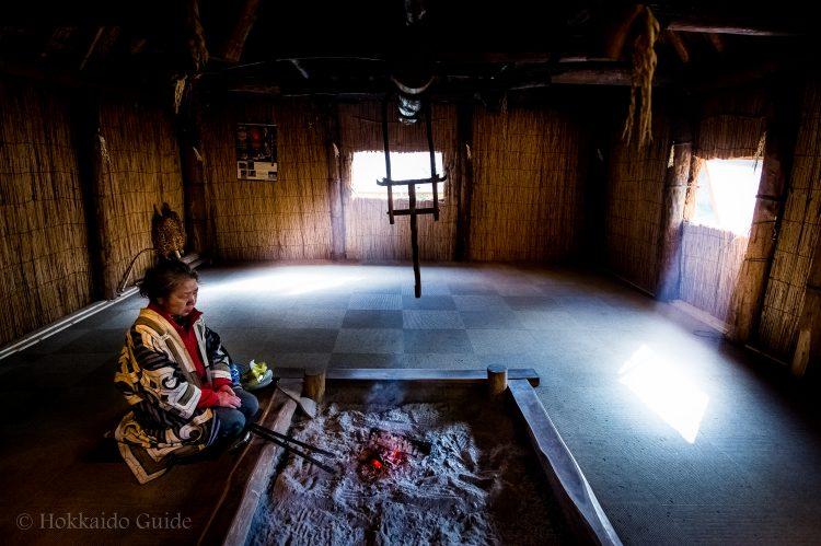 Ainu home