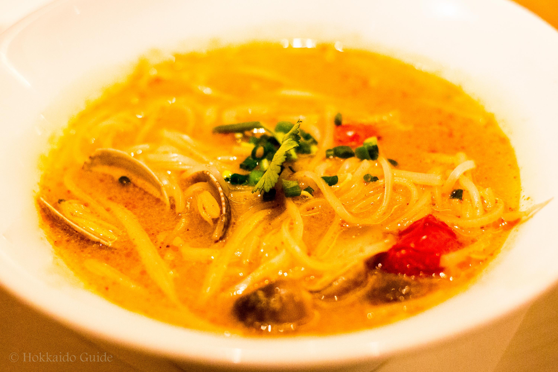 Thai's Sapporo rthai tom yum noodle