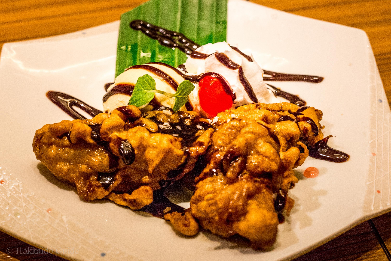 Thai's Sapporo banana fritters