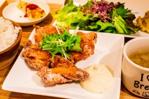 Provence Restaurant Sapporo fried chicken