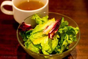 Chapeau Rouge Paseo Sapporo salad