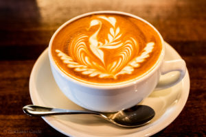 Standard Cafe latte art