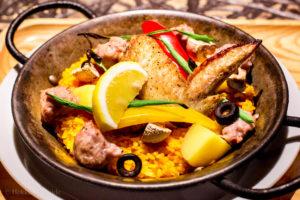 Chicken paella Sapporo