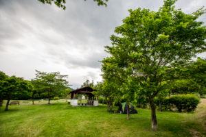 Keikoku Park Camping Ground area