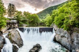 Rakuyo Falls