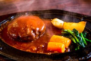 Boyotei Restaurant Lake Toya hamburg set