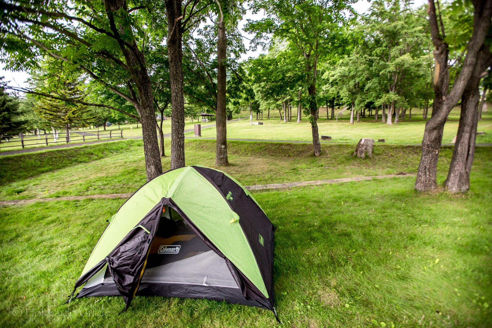 かなやま湖畔キャンプ場