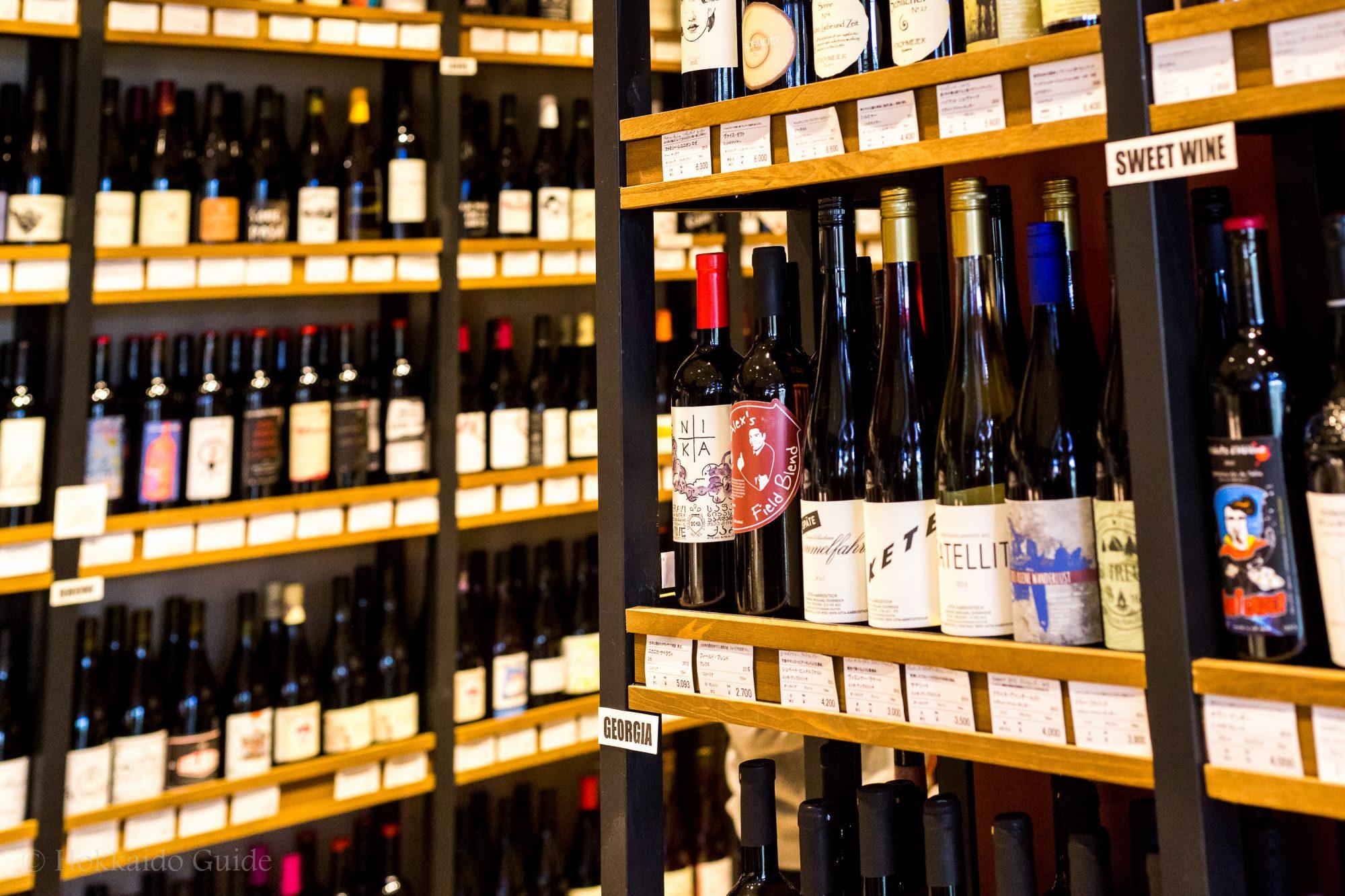 ワインショップ円山屋