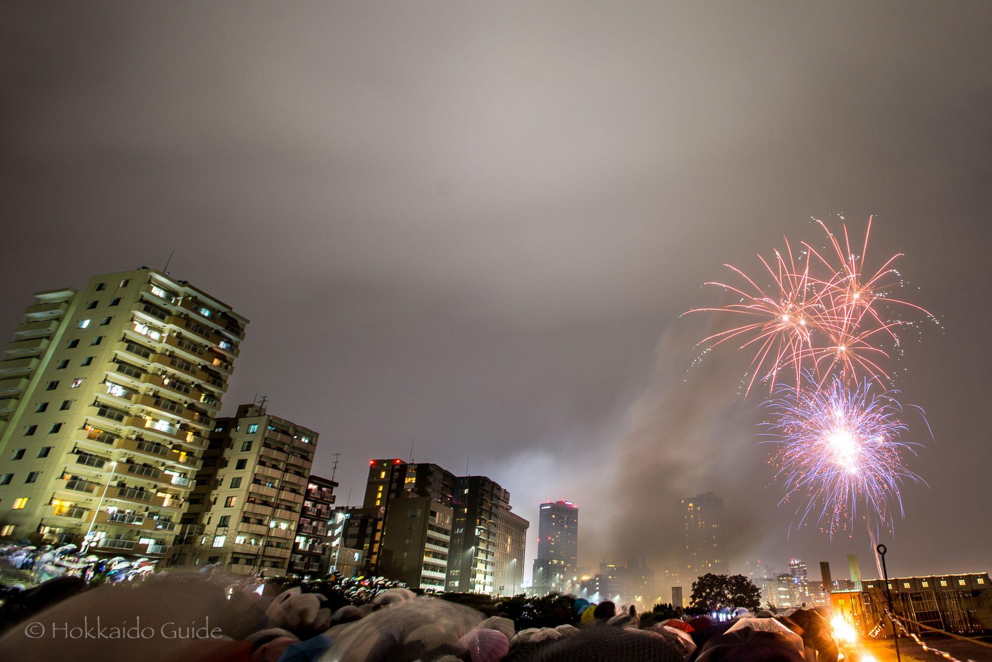 豊平川花火